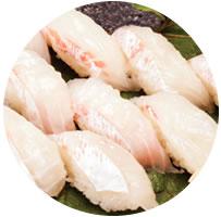 鯛のお寿司の写真
