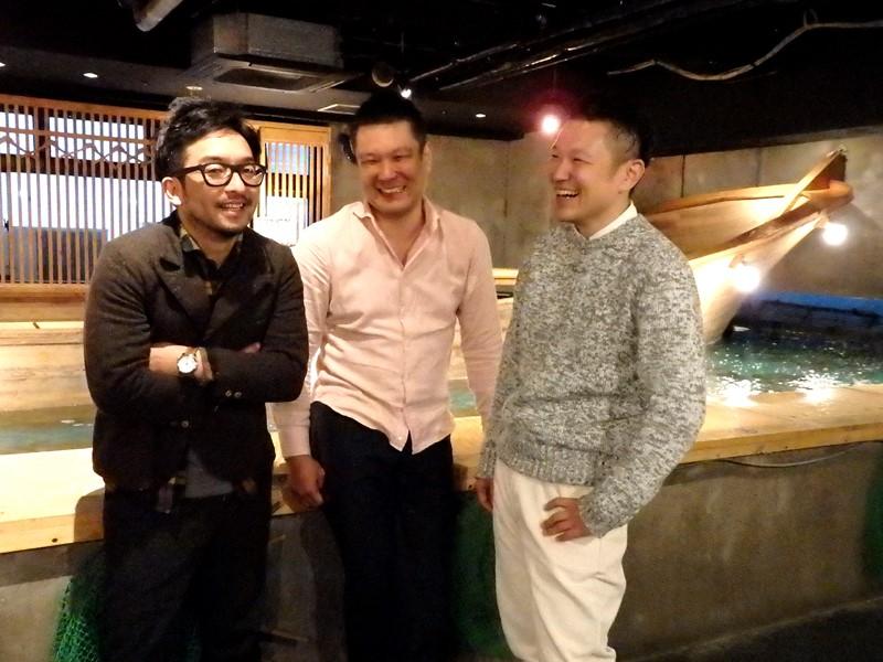 ▲左から、上野建築研究所 代表取締役・上野 幹恭(うえの ともやす)さん、ハーバーハウス社長・髙橋和久さん、同じく副社長・髙橋拓也さん